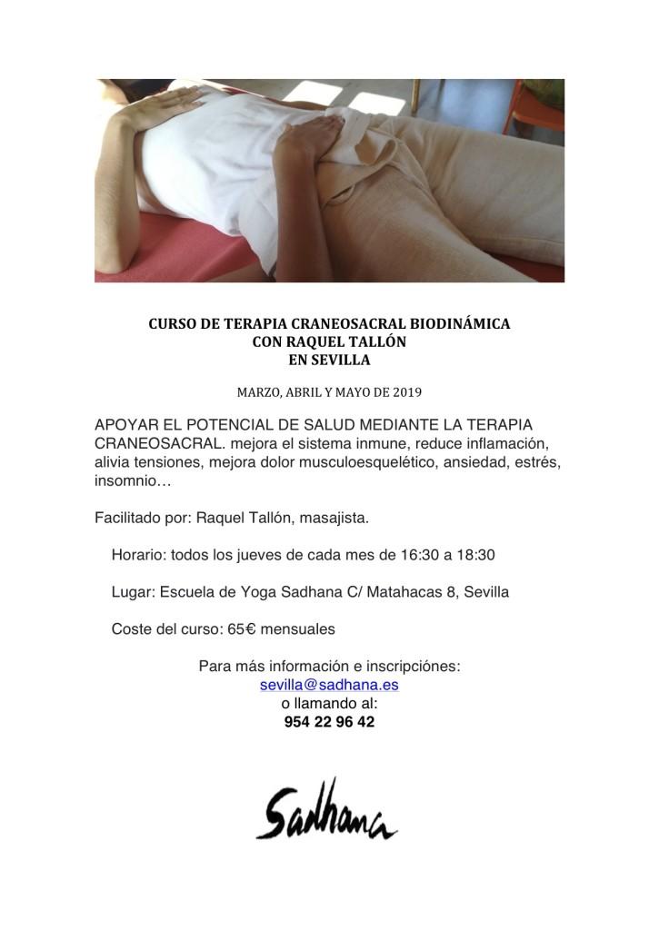 CURSO DE TERAPIA CRANEOSACRAL BIODINÁMICA
